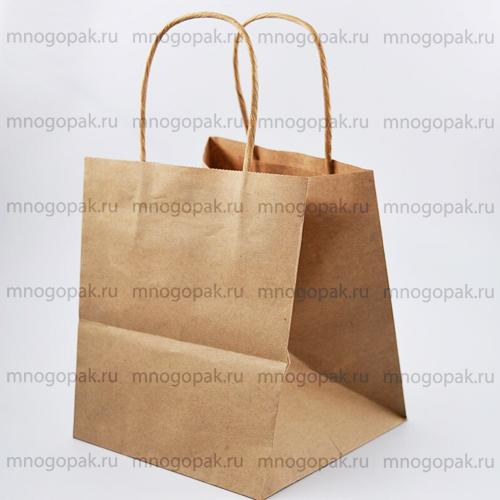 Пакет подарочный широкий платье на сборке выкройка