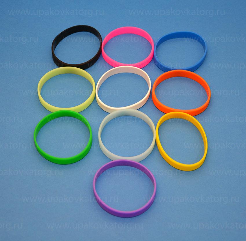 Пример силиконовых браслетов