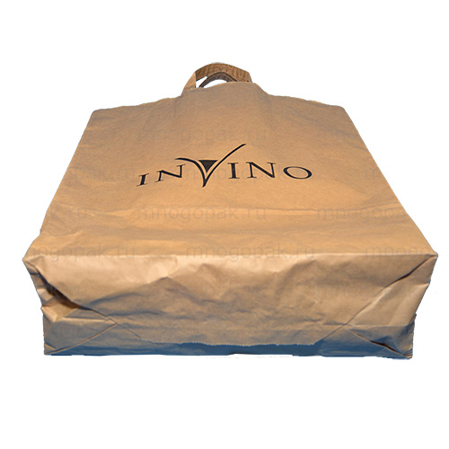 Заказать пакеты бумажные с логотипом