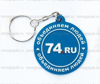 Пример брелоков с логотипом