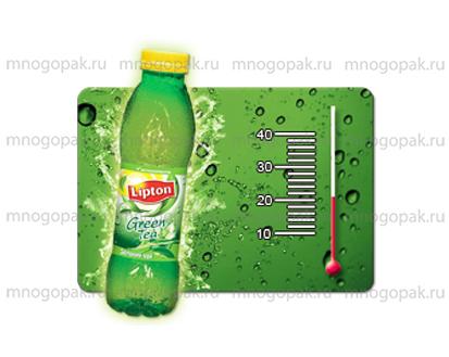 Пример пластиковых магнитов с логотипом