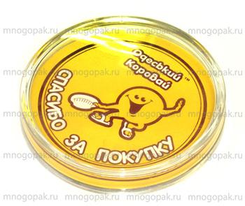 Пример акриловых монетниц с логотипом