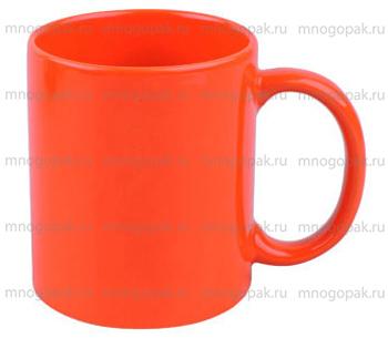Пример посуды с логотипом