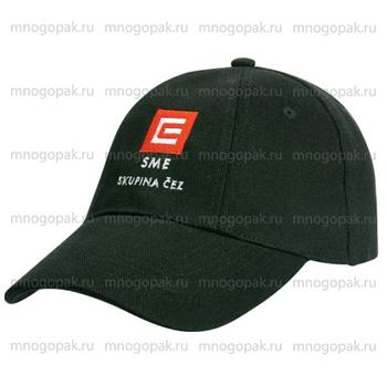 Пример вышивки с логотипом