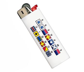 Пример зажигалок с логотипом