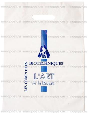 Пример пакетов свырубной укрепленной ручкой