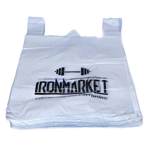 Пакет майка с логотипом IronMarket