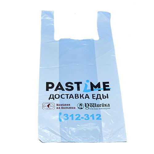 Пакет майка с логотипом PASTIME