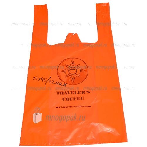 Пакет майка с логотипом Космик