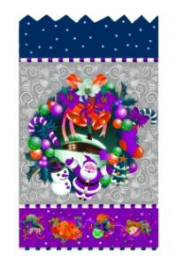 новогодний пакет для конфет