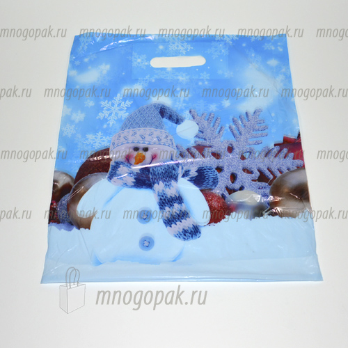 Пакет майка с логотипом Лучок