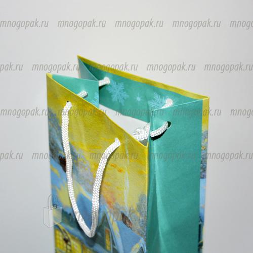 Пакет майка с логотипом шашлык House