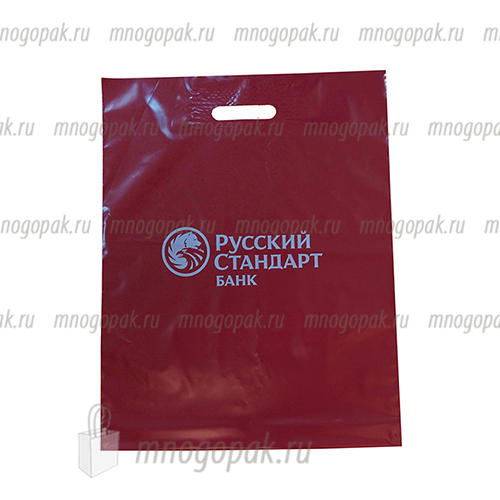 "Пакет ПВД ВУР ""Русский стандарт"",                                             40х50/80мкм"