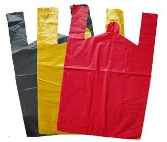 Ассортимент цвета и размера пакетов в 2013 году