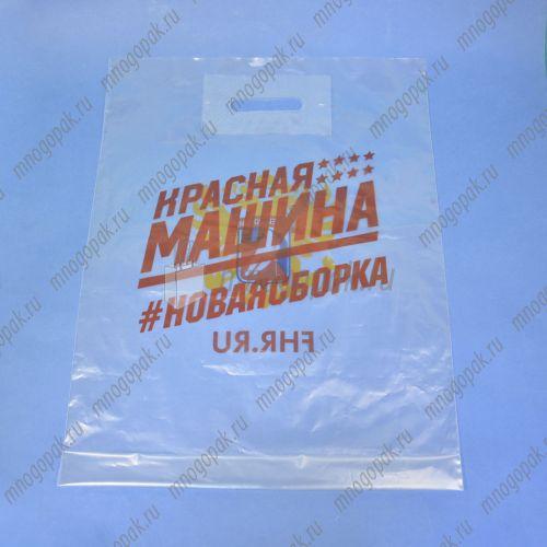 FHR, прозрачный маленький хоккейный пакет