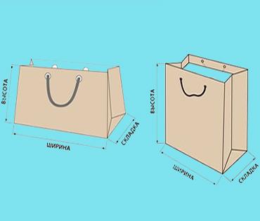 оформление упаковочных пакетов