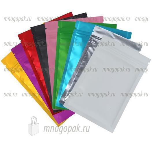 Цветные пакеты Zip-Lock