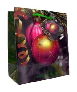 новогодний крафт-пакет 2014